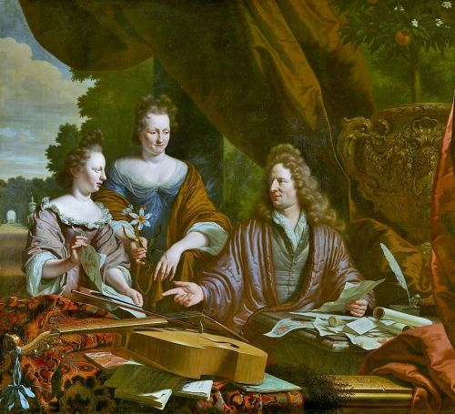 "17C Portraits - Families Head Outside as Man Becomes ""the Interpreter of Nature"""