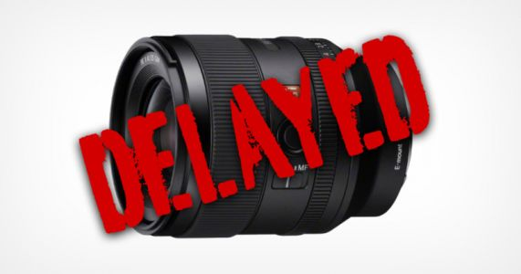 The Highly-Anticipated Sony 35mm f/1.4 GM is Delayed Indefinitely