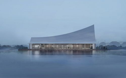 "MUDA-Architects Wins ""The Most Beautiful Bookstore in Chengdu"" Competition"