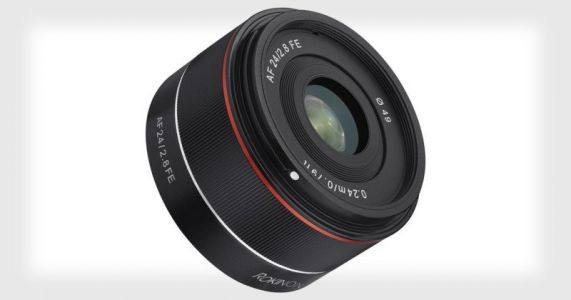 Samyang Unveils the 24mm f/2.8 Lens for Sony FE Cameras