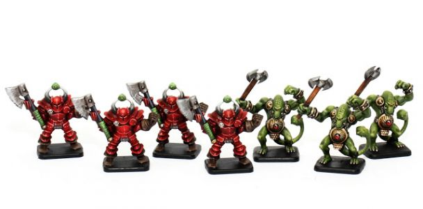Showcase: Heroquest Chaos Warriors and Fimir