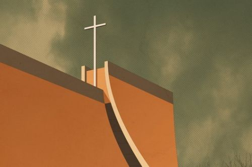 Illustrations of Sacred Spaces Around the World by André Chiote