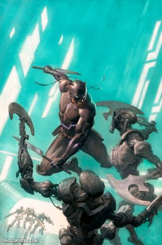 Black Panther no. 10 Cover