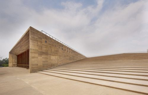 Teopanzolco Cultural Center by Isaac Broid + PRODUCTORA Wins the Oscar Niemeyer Award