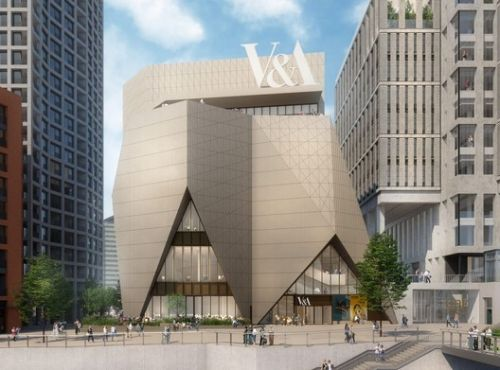 V&A East Revealed with New Designs by Diller Scofidio + Renfro and O'Donnell + Tuomey