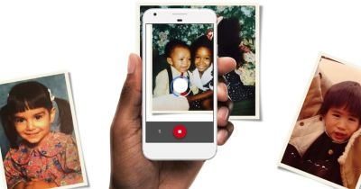 Google's PhotoScan App Uses Your Phone to Digitize Old Prints, Glare Free