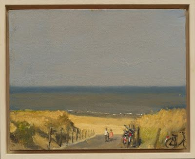 Path to the beach, The Hague