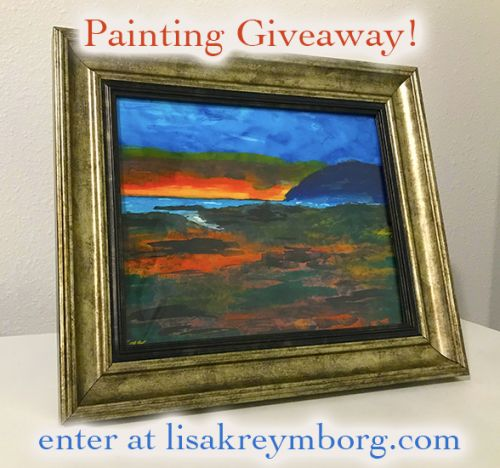 PAINTING GIVEAWAY!!!!!