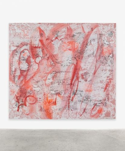 Jacqueline Humphries: The Matrix meets Cy Twombly