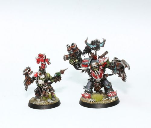 Showcase: Orks Warboss and Painboy