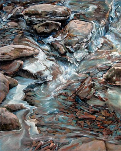 Spring Thaw | Melt Water by Rebecca Zook