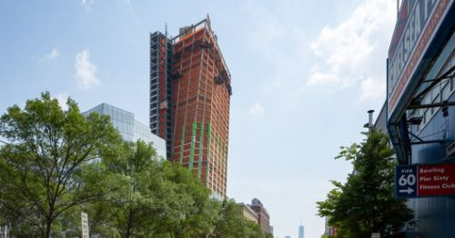 BIG's First Twisting Tower Tops Out in Manhattan as New Renderings Released