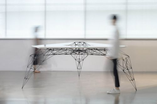 Slender Strength: The Mighty Grace of the Stainless Steel AIRTable