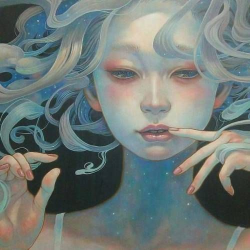 Artist Miho HiranoThe exquisite subtleties of color, line, and