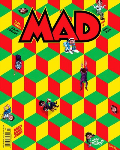Monday MADness- Cover of MAD 6!