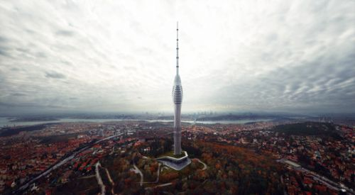 New Photographs Released of Istanbul's Futuristic Supertall TV and Radio Tower