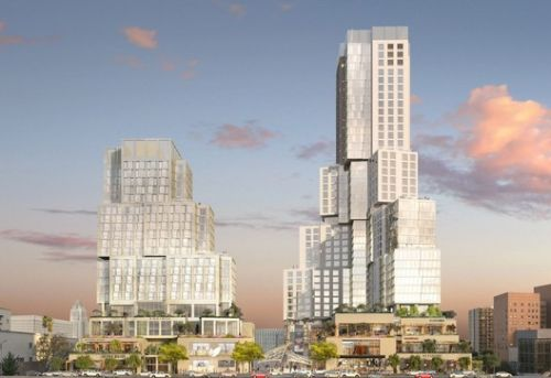 Frank Gehry's Grand Avenue Towers Finally Set to Begin Construction