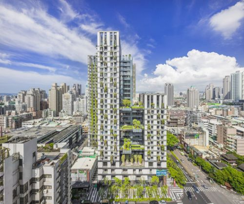 WOHA Completes First Green Mixed-Use Development in Taiwan