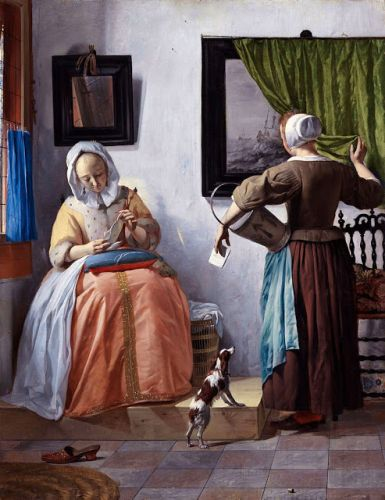 Gabriel Metsu. Buried this day in 1667