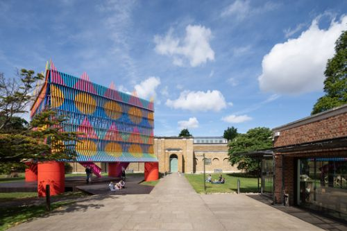 The Colour Palace Pavilion / Pricegore + Yinka Ilori