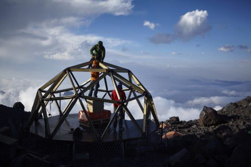 Lightweight and Compact Shelter Is The Last Base Before the Climb to the Highest Point in Europe