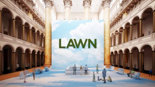 "Rockwell Group's ""Lawn"" to Open at the National Building Museum this Summer"