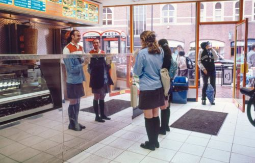 The Clever Street Photography of Alan Burles