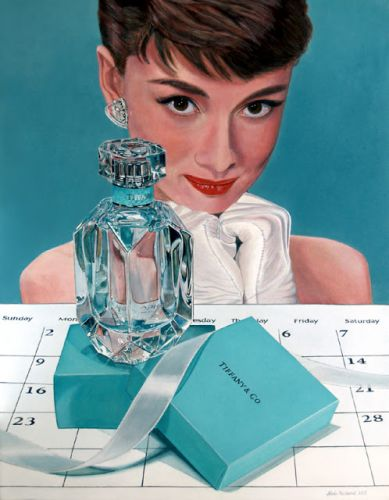 A Date with Audrey, gifts from Tiffany's