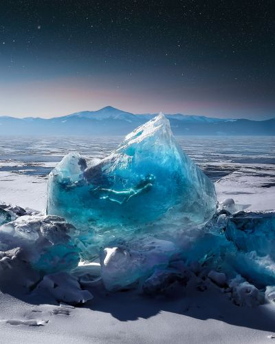 Mysterious Worlds Collide in Justin Peters' Digital Collages Created with HP's ZBook x2