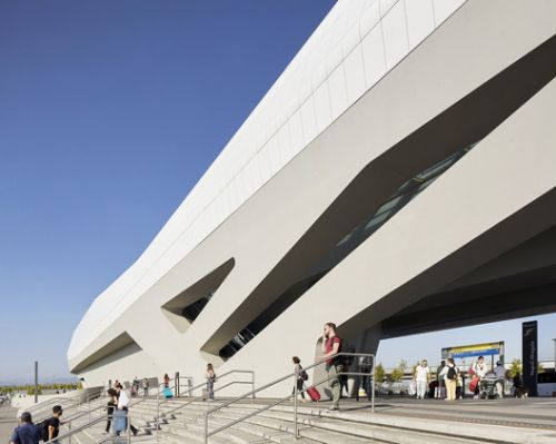 Napoli Afragola Station / Zaha Hadid Architects