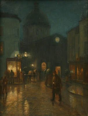 Norman Garstin, A Steady Drizzle