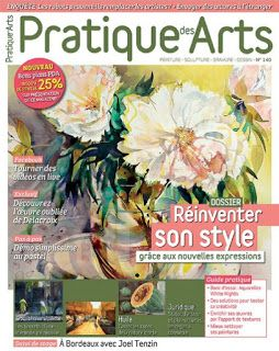 My feature in Pratique Des Arts magazine
