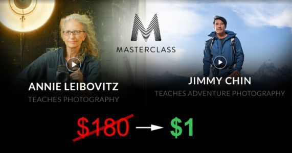 MasterClass is Giving College Students a 1-Year Pass Worth $180 for Just $1