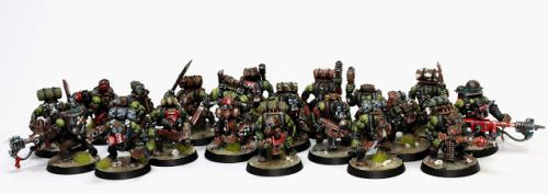 Showcase: Space Ork Kommandos