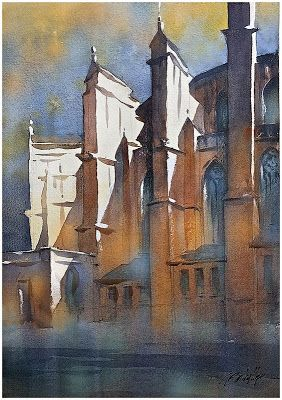"""""""End of the Day - Toulouse Cathedral"""""""