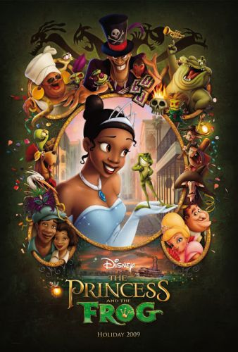 The Princess and the Frog at the Academy