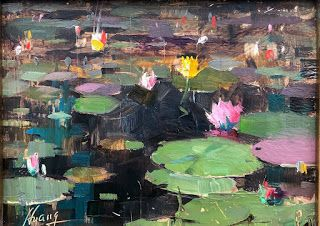 """Water Lily Sweetness"" -- Sold"
