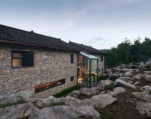 Nanchawan·Shiwu Tribe Homestay / The Design Institute of Landscape and Architecture China Academy of Art