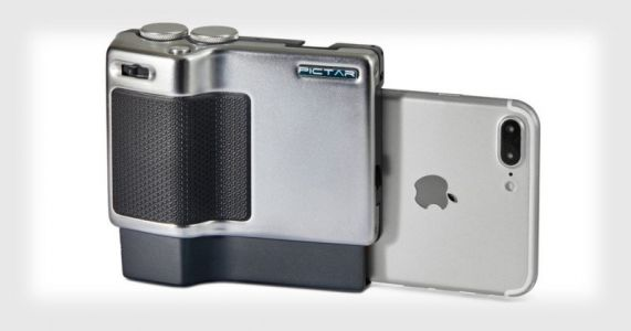 Pictar Pro is a Grip that Gives iPhones and Androids DSLR-Like Controls
