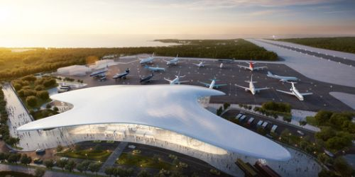 Studio Fuksas Wins Competition for Gelendzhik Airport in Russia