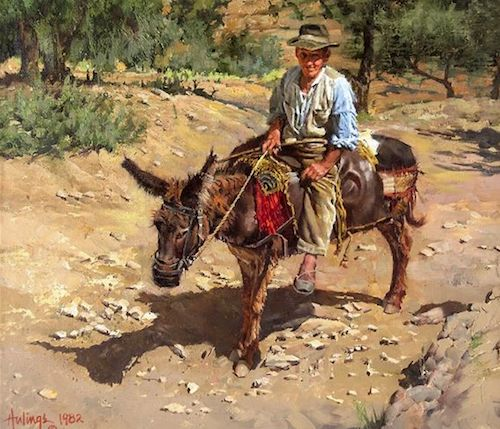 Clark Hulings - Western and Other Paintings