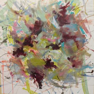 Expressive Abstract by Kay Wyne