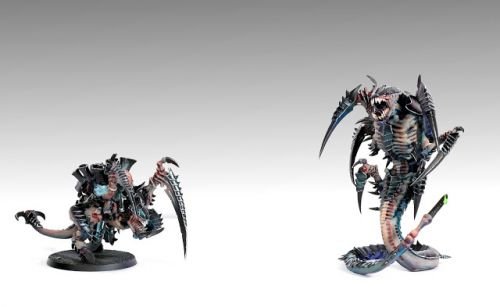 Showcase: Tyranids Carnifex and Trygon by Aurélie