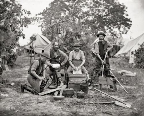 The Chores of War: 1862