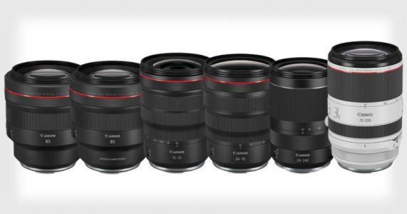 Canon Announces the Development of 6 New RF Lenses