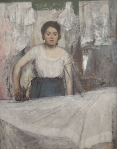 Some of Degas' Unfinished Paintings
