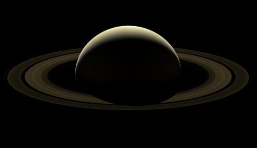 This is Cassini's Last Photo of Saturn After 13 Years in Orbit