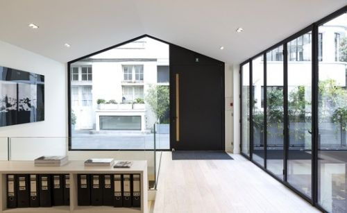 Minimalist Windows with High Rigidity Steel Profiles: Transparency and Subtle Design
