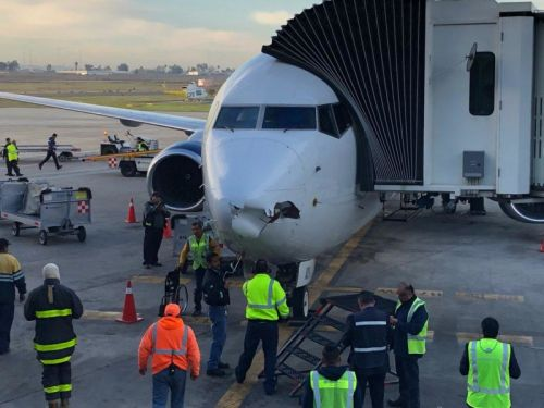 737 Passenger Plane Slams Into Drone During Landing, Reports Say