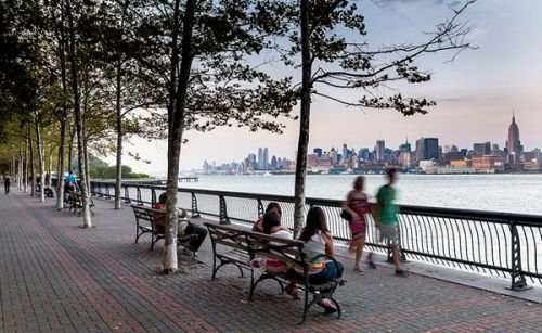 SATURDAY: The View from Hoboken